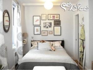 نکات هوشمندانه برای چیدمان اتاق خواب های کوچک